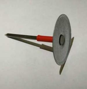 Штифты с диском крепления CDF PAP ISOL