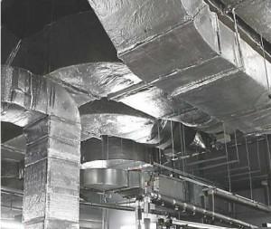 фото системы конструктивной огнезащиты воздуховодов ЕТ ВЕНТ