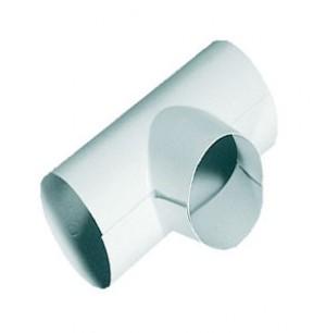 Тройники PVC WHITE