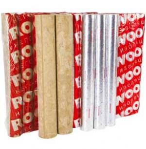 Цилиндры rockwool 100 кашированные фольгой